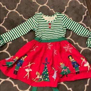 Eleanor Rose Christmas dress size 7-8